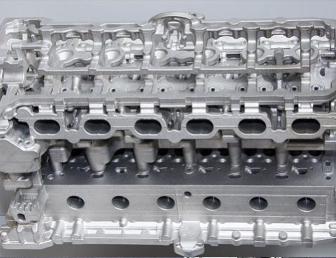 re-manufactured cylinder head