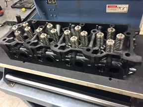 rebuilt cylinder heads