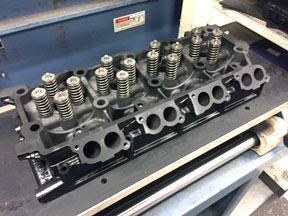 rebuilt ford cylinder heads