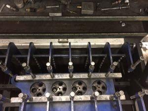 test ford 6.0-6.4-cylinder heads for cracks