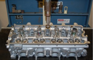 Cylinder head assembly bench