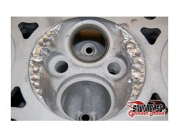 Typical Intake Valve Seat Failure | Southeast Cylinder Heads